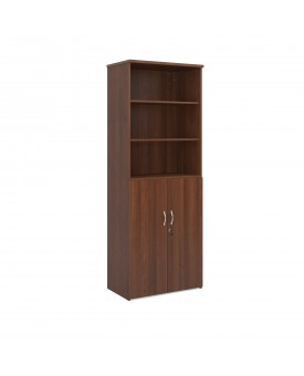 Combination unit with open top- 2000mm - Walnut