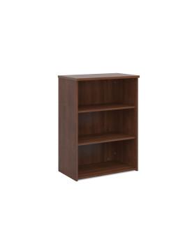2 Shelf Economy Bookcase - 1200mm - Walnut