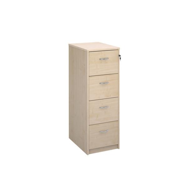 4 Drawer Economy Filing Cabinet - 1445mm - Maple