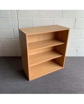 Beech one shelf bookcase