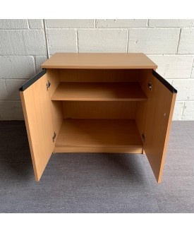 Beech one shelf Cupboard