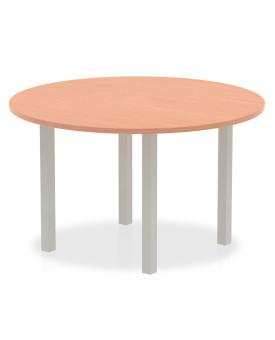 Circular meeting table - 1200mm - Beech