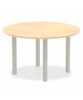 Circular meeting table - 1200mm - Maple