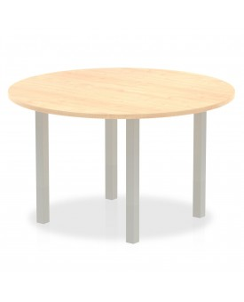 Circular meeting table - 1200mm - Maple