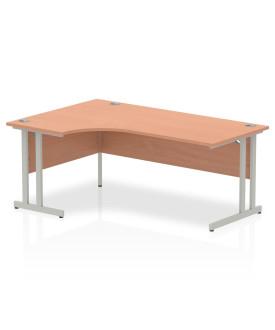 Corner economy desk - 1800mm x 1200mm  Beech - (Left Handed)