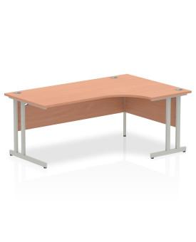 Corner economy desk - 1800mm x 1200mm  Beech - (Right Handed)