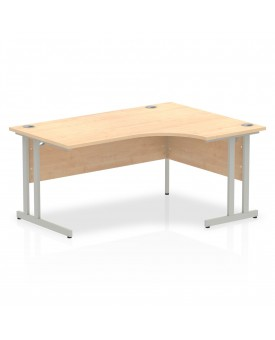 Corner economy desk - 1600mm x 1200mm  Maple - (Right Handed)