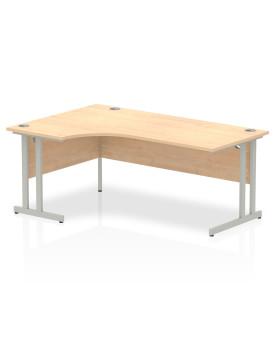 Corner economy desk - 1800mm x 1200mm  Maple - (Left Handed)