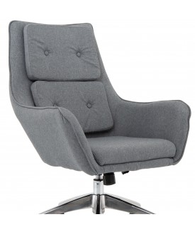 Lily Grey Fabric Executive Chair