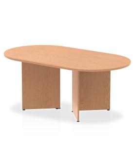Meeting table - 1800mm x 1000mm - Oak