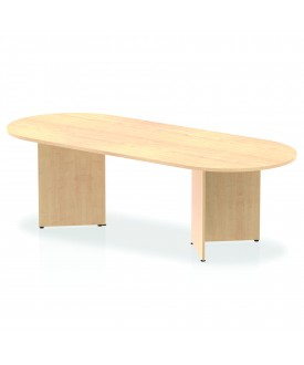 Large meeting table - 2400mm x 1000mm - Maple