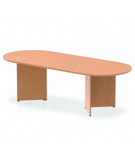 Large meeting table - 2400mm x 1000mm - Oak
