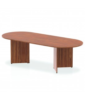 Large meeting table - 2400mm x 1000mm - Walnut