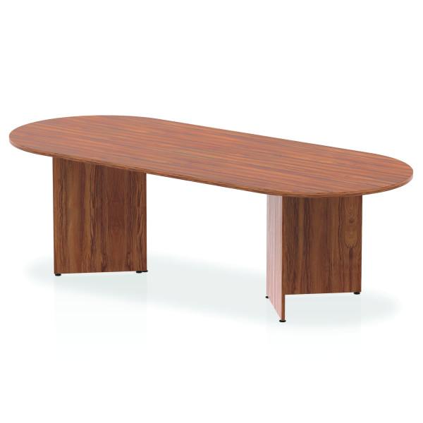 Large meeting table - 2400mm x 1000mm - Walnut