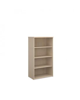 3 Shelf Economy Bookcase - 1600mm - Maple