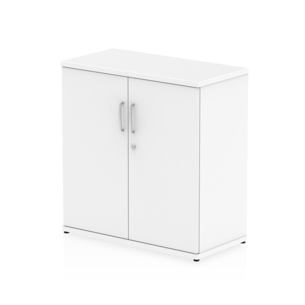 2 door 800 economy cupboard- White