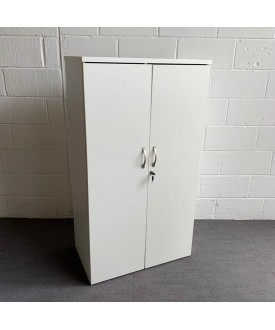 White storage cupboard- 1440 high