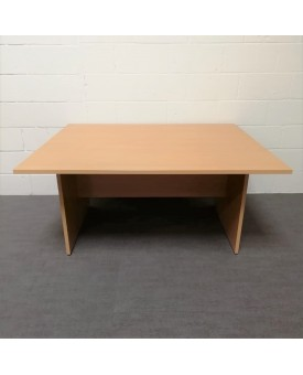 Beech meeting table- 1500 x 1200