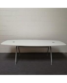 White 2400 meeting table