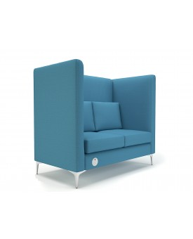 Altus 128cm Wide Privacy Booth - Cristina Ultima- Numerous Colours Available
