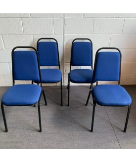 Blue Static Chair