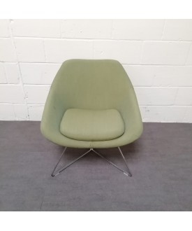 Green reception chair