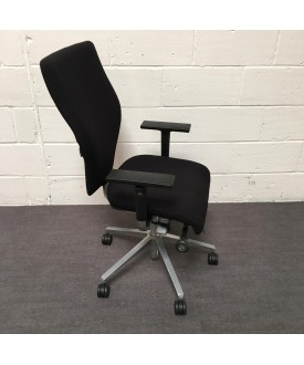 Orangebox Black Task Chair-  X10 HBA