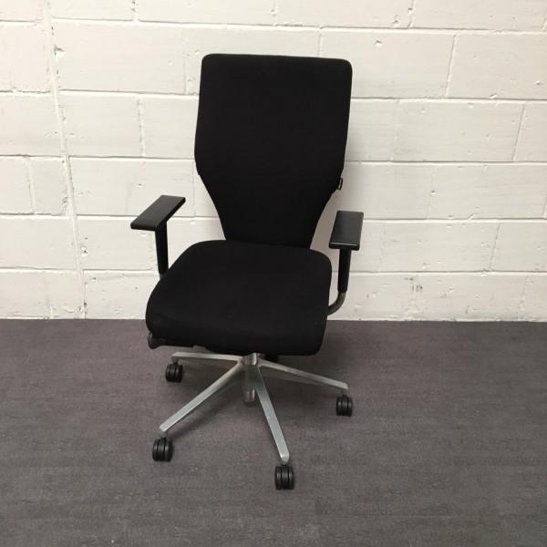 Orangebox Black Task Chair-  X10 HBA