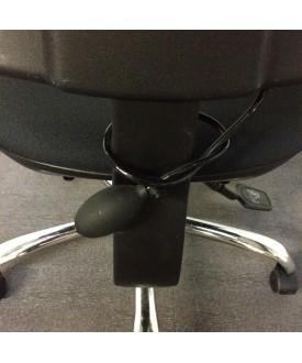 Black Task Chair- Lumbar Pump