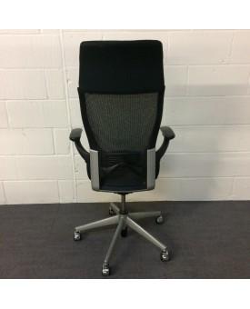 Black Operator Chair- High Back