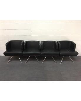 Black Boss Design Reception Chair