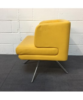 Yellow Boss Design Reception Chair