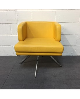 Yellow Boss Design Reception Chair