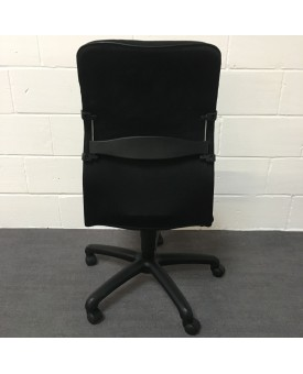 Black Operator Chair- no arms