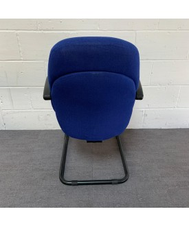 Blue Static Chair