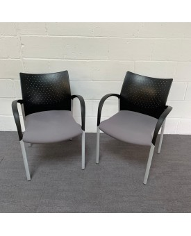 Reception chair pair