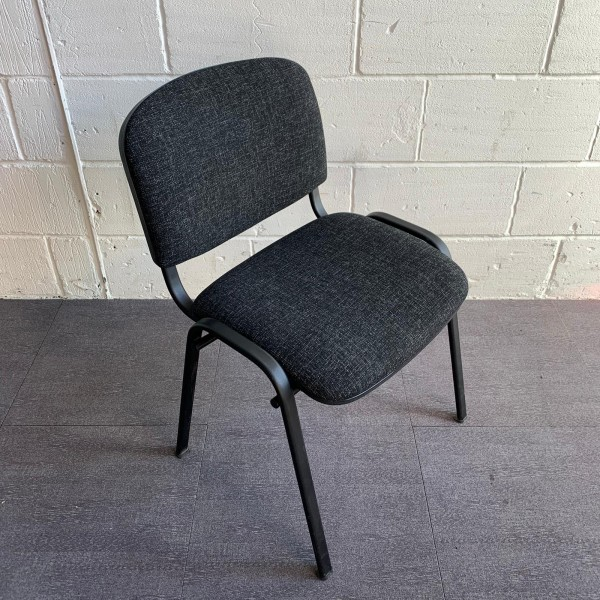 Dark Grey Static Chair