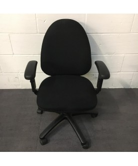 Torsaen Black Task Chair