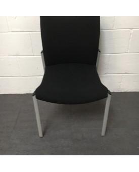 Senator Black Static Chair