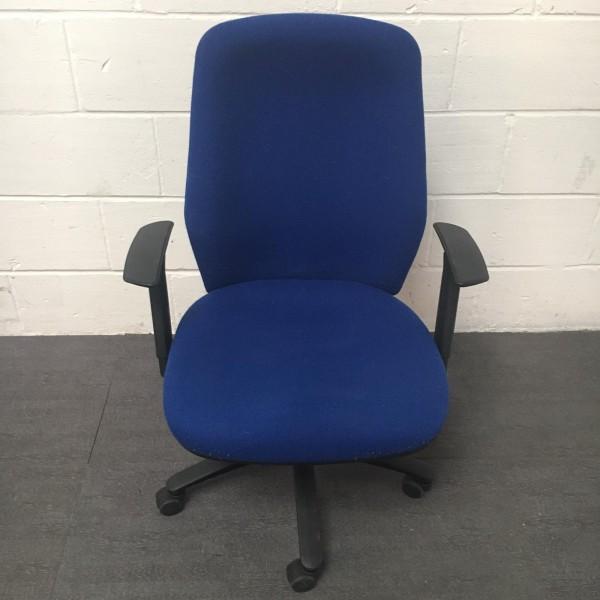 Blue Operator Chair