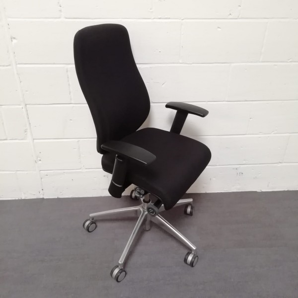 Boss Design Black Task Chair- Fully Loaded