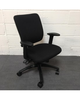 Sven Christiensen Black Task Chair- Fully Loaded