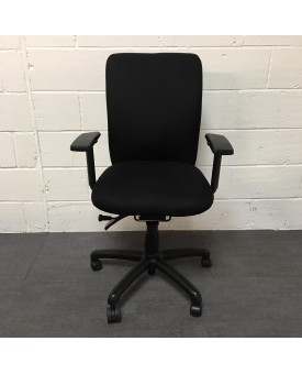 Albion Black Task Chair- Fully Loaded