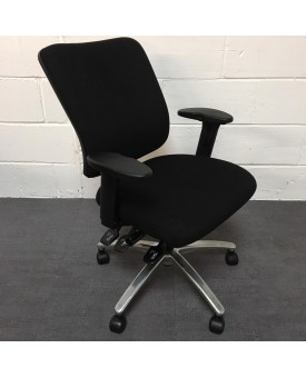 Sven Christiensen Black Task Chair