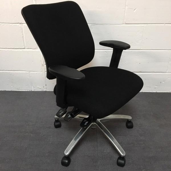 Sven Christiensen Black Task Chair