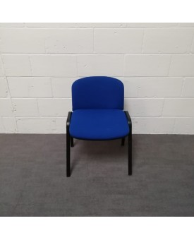 Blue meeting chair
