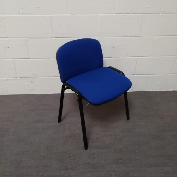 Blue meeting chair