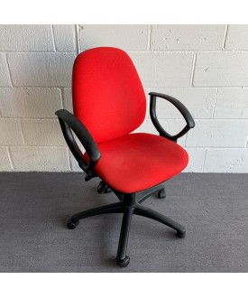 Red Operator Chair