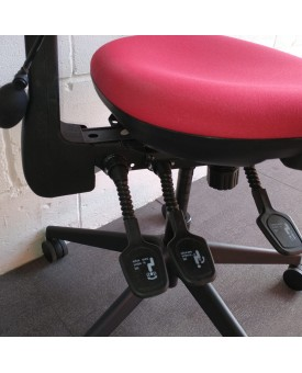 Red Torasen Task Chair