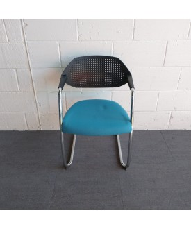 Boss Design Green and Black Static Chair